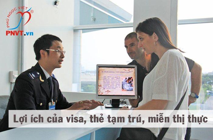 Công dụng của hộ chiếu, visa, thẻ tạm trú, giấy miễn thị thực 5 năm?
