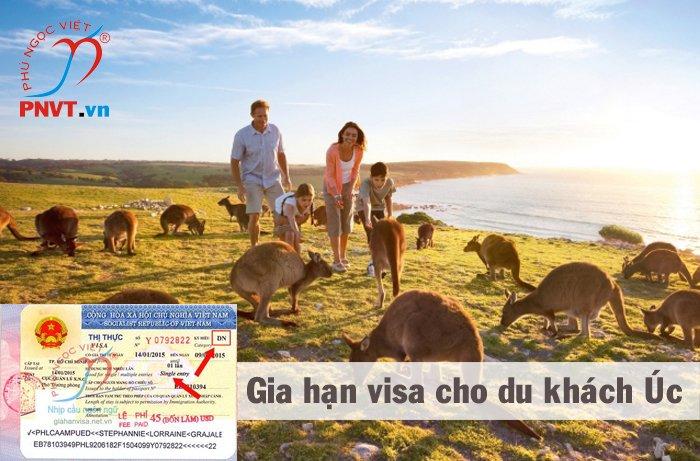 Gia hạn visa cho du khách người Úc ở TPHCM