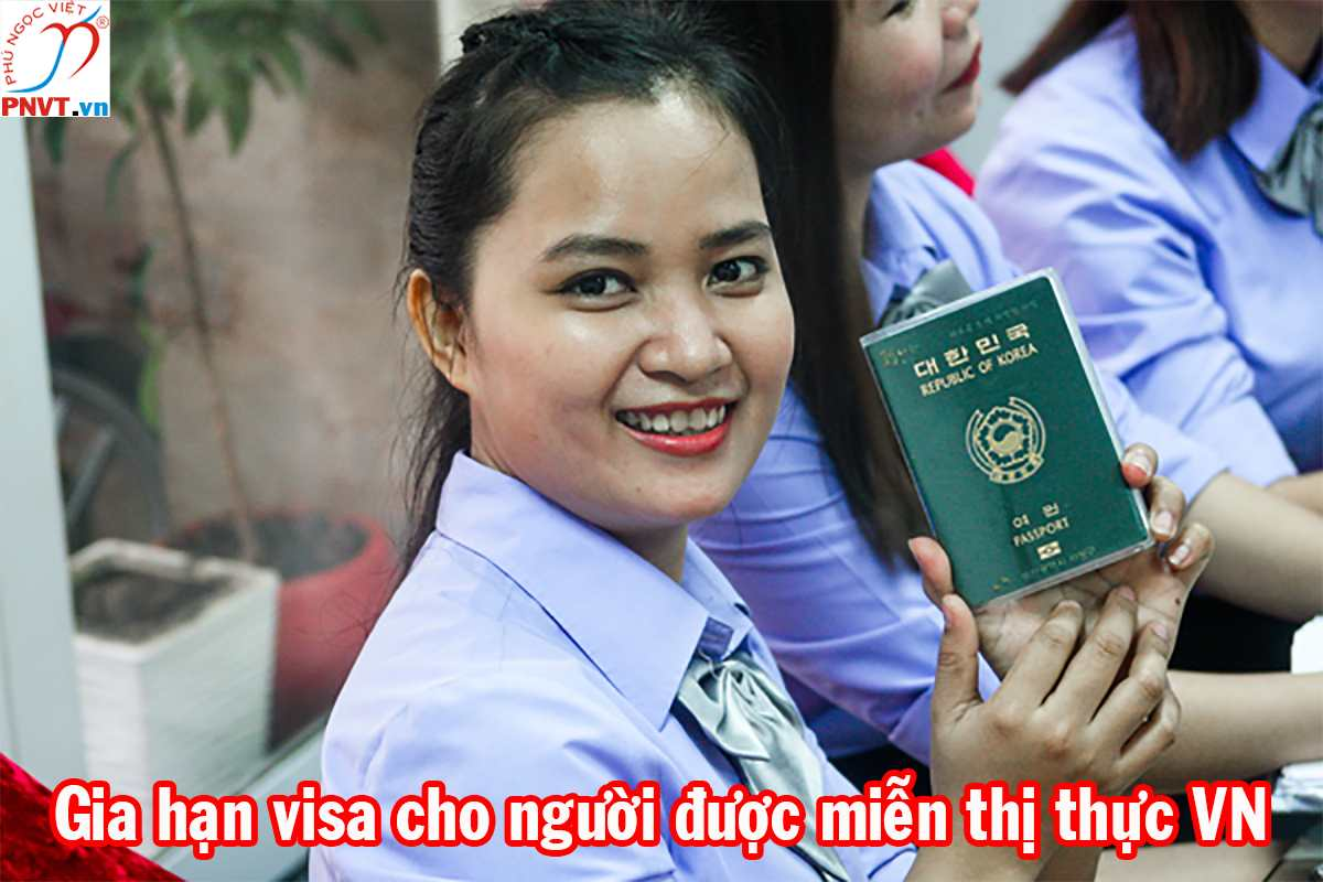 gia hạn visa cho người được miễn thị thực việt nam