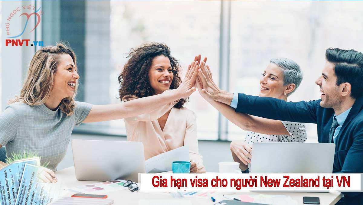 Gia Hạn Visa Cho Người New Zealand Tại Việt Nam