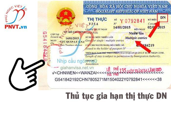 thủ tục gia hạn visa doanh nghiệp
