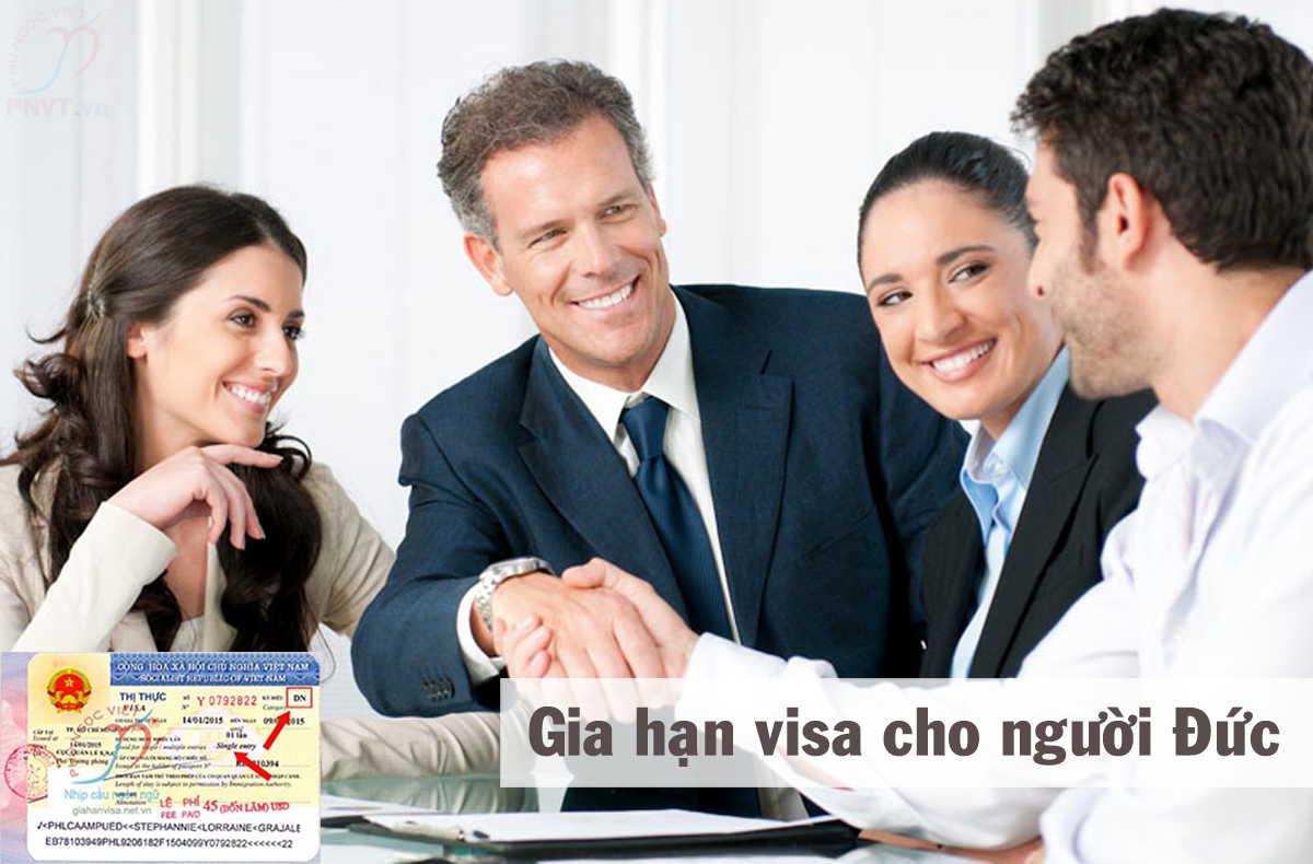 gia hạn visa du lịch cho người đức