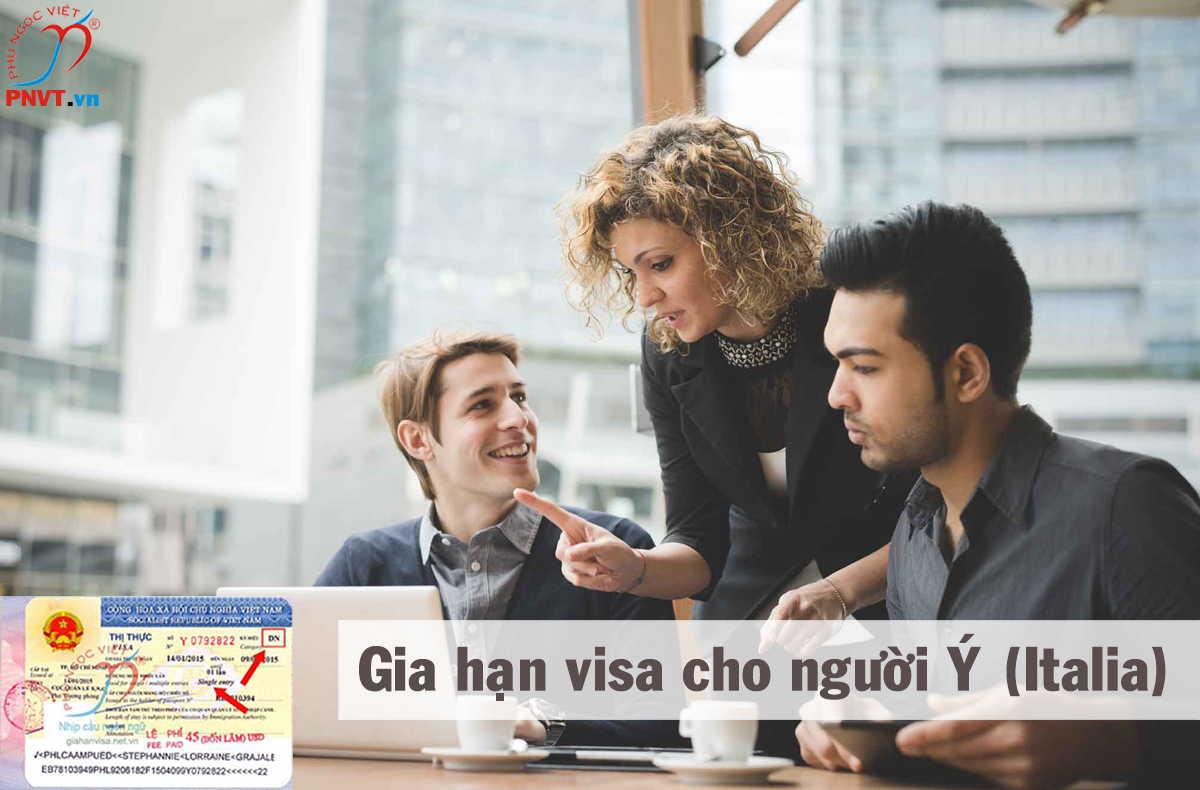 gia hạn visa du lịch cho người italia