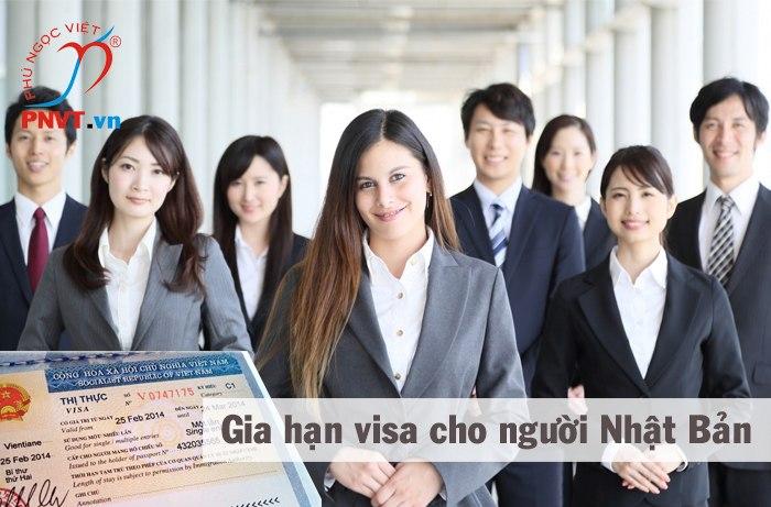 Gia hạn visa du lịch cho người Nhật Bản