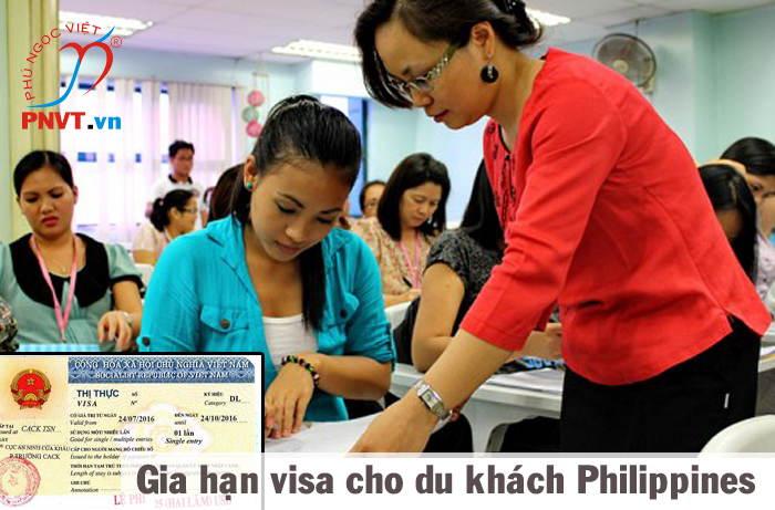 gia hạn visa du lịch cho người philipines