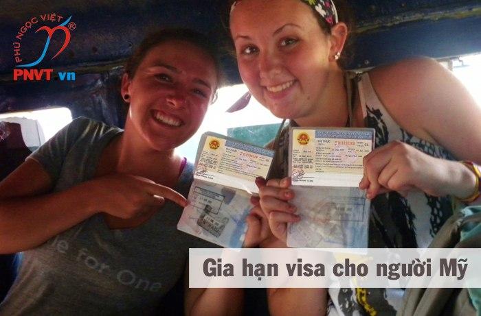 gia hạn visa Việt Nam cho người Mỹ
