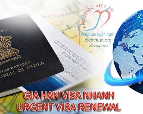 Giải pháp gia hạn visa khẩn trong 3 ngày tại Việt Nam