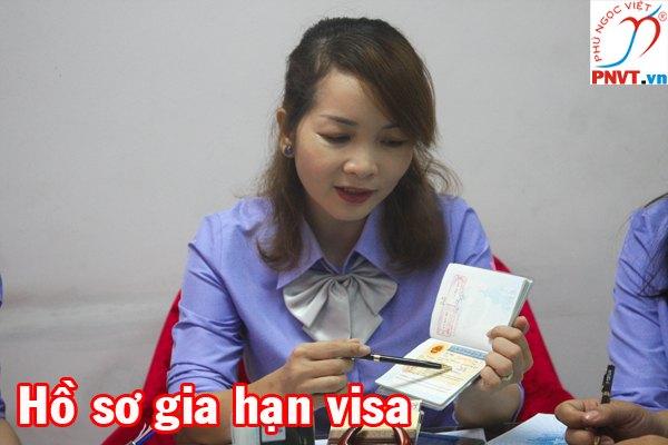 hồ sơ xin gia hạn visa cho người nước ngoài