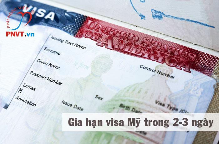 gia hạn visa mỹ nhanh