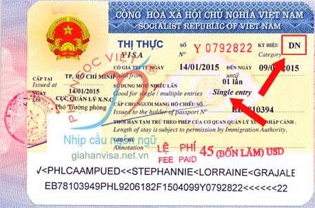Không được chuyển đổi mục đích thị thực