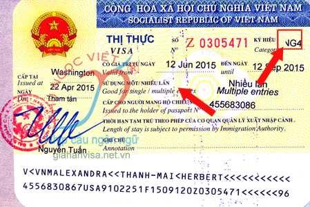ky hieu thi thuc ng4, goc visa ng4, ký hiệu thị thực ng4, gốc visa ng4