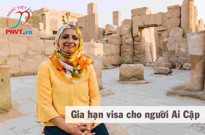 gia hạn visa cho người ai cập tại việt nam