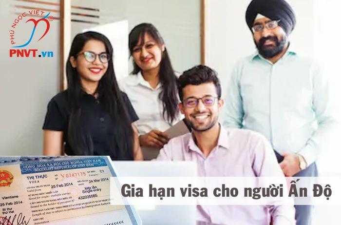 thủ tục gia hạn visa cho người ấn độ