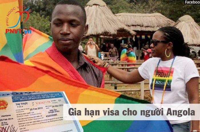 thủ tục gia hạn visa cho người angola