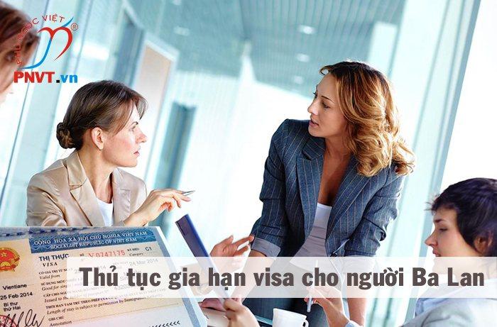 thủ tục gia hạn visa cho người ba lan