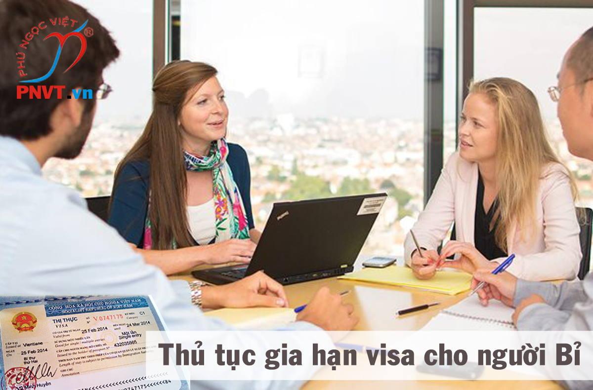 thủ tục gia hạn visa cho người bỉ