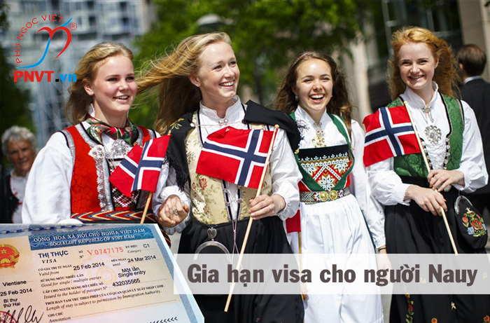gia hạn visa cho người Na Uy tại việt nam