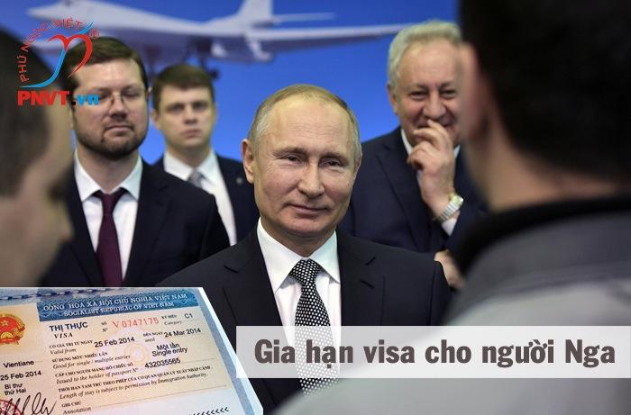 thủ tục gia hạn visa cho người nga