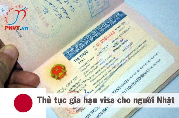 gia hạn visa cho người nhật ở việt nam