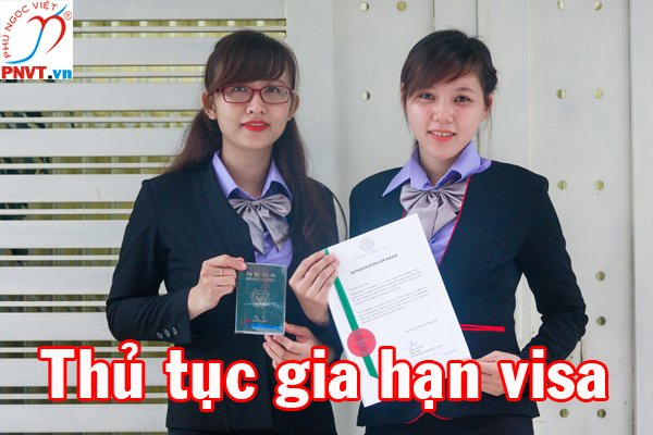 thủ tục gia hạn visa