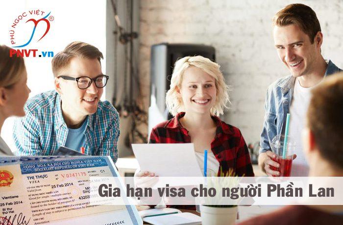 thủ tục gia hạn visa cho người phần lan