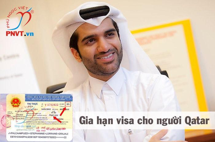 thủ tục gia hạn visa cho người qatar