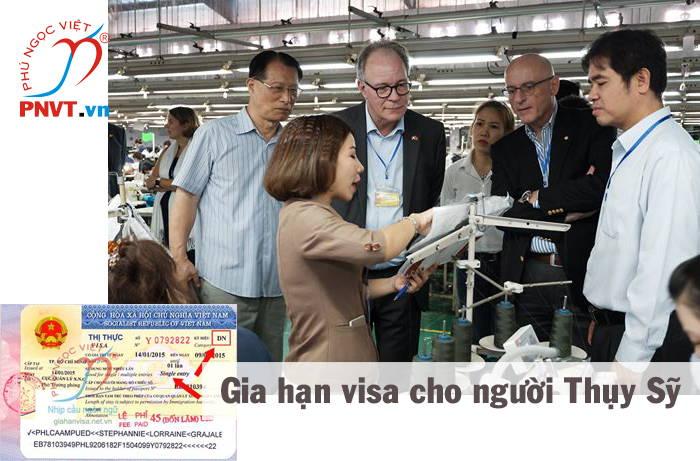 thủ tục gia hạn visa cho người thụy sĩ