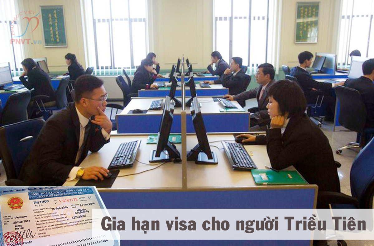 thủ tục gia hạn visa cho người triều tiên