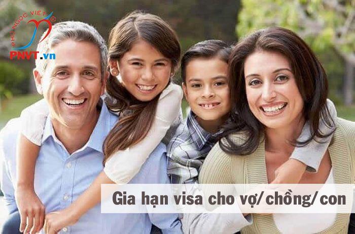 Thủ tục gia hạn visa cho vợ, chồng, con của người nước ngoài ở Việt Nam