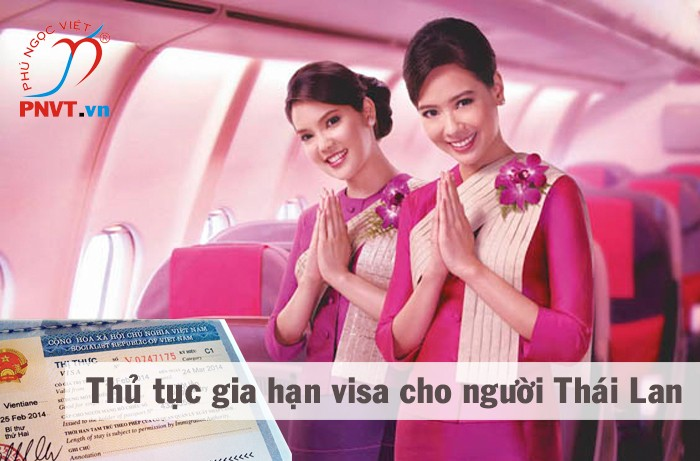 thủ tục gia hạn visa cho người thái lan