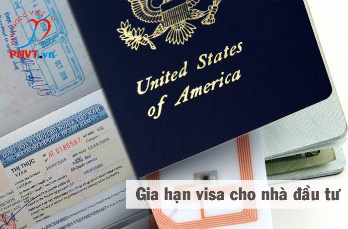 thủ tục gia hạn visa cho nhà đầu tư