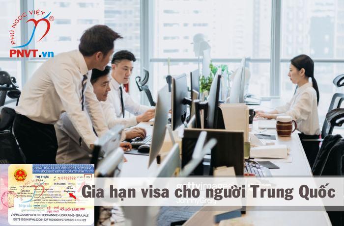 Visa và gia hạn visa cho người Trung Quốc làm việc tại Việt Nam